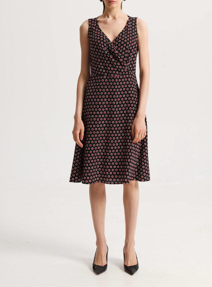 Платье на запах из шелка SHKO_19024001, фото 1 - в интернет магазине KAPSULA
