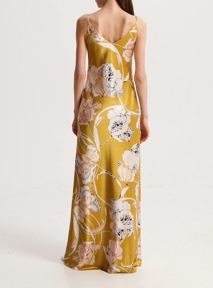 Платье макси из шёлка SHKO_19037001, фото 1 - в интернет магазине KAPSULA