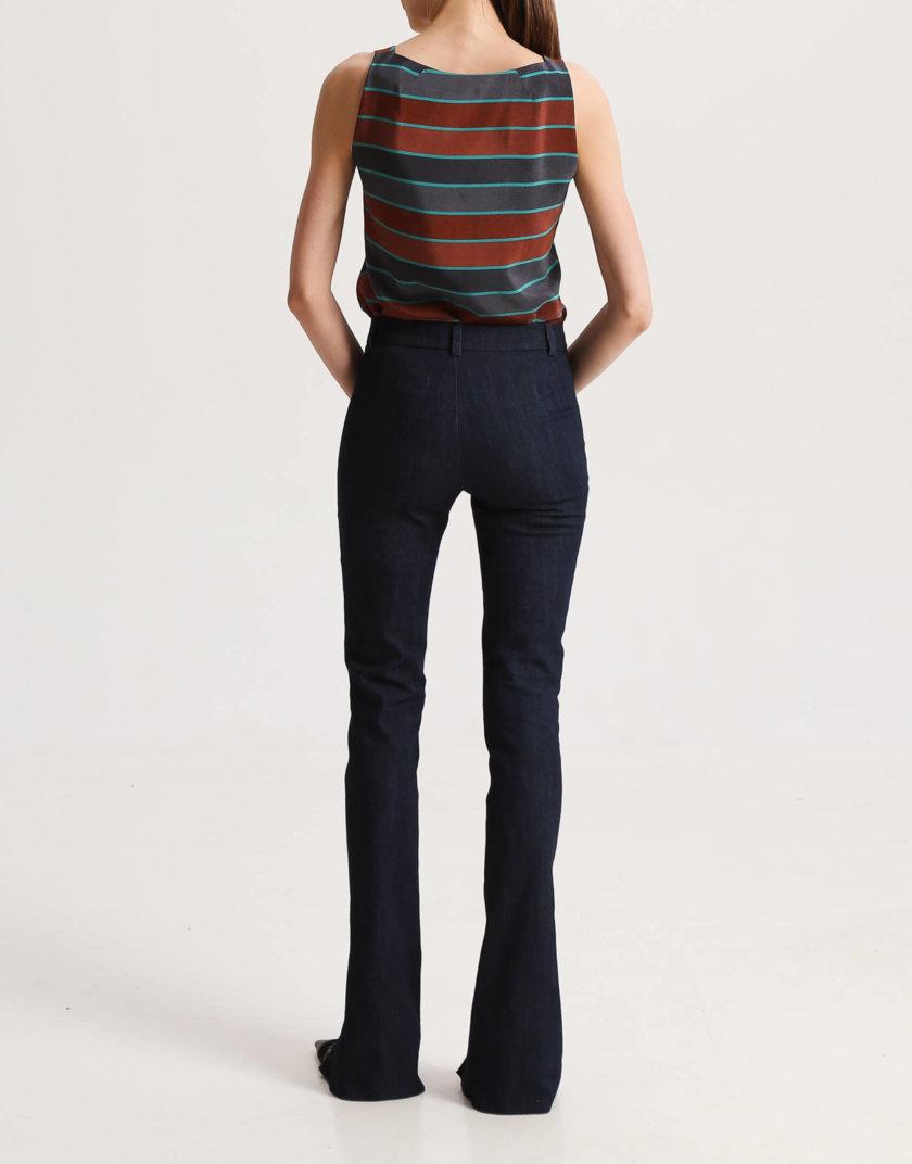 Джинсовые брюки с разрезами спереди SHKO_19056003, фото 1 - в интернет магазине KAPSULA
