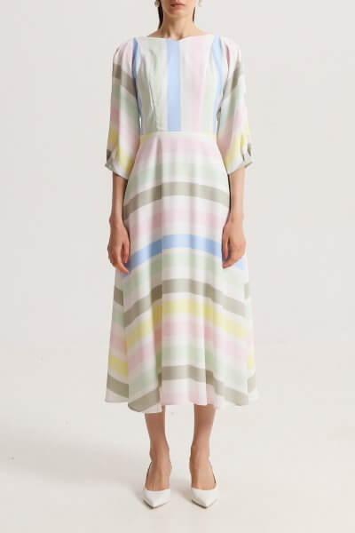 Платье миди на подкладе SHKO_20010001, фото 1 - в интеренет магазине KAPSULA