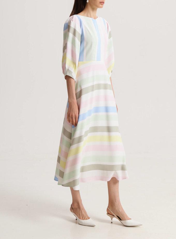 Платье миди на подкладе SHKO_20010001, фото 1 - в интернет магазине KAPSULA
