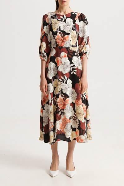 Платье А-силуэта в принт SHKO_20010002, фото 11 - в интеренет магазине KAPSULA