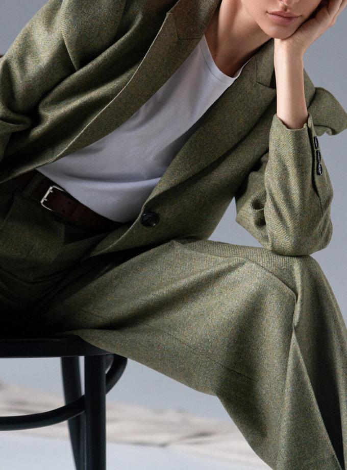 Жакет из шерсти с объемными рукавами SKR_40053, фото 1 - в интеренет магазине KAPSULA