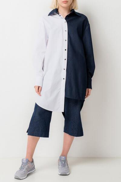 Платье-рубашка из хлопка TFAM_AN22, фото 12 - в интеренет магазине KAPSULA
