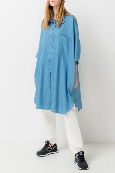 Платье-рубашка из хлопка TFAM_AN23, фото 1 - в интеренет магазине KAPSULA