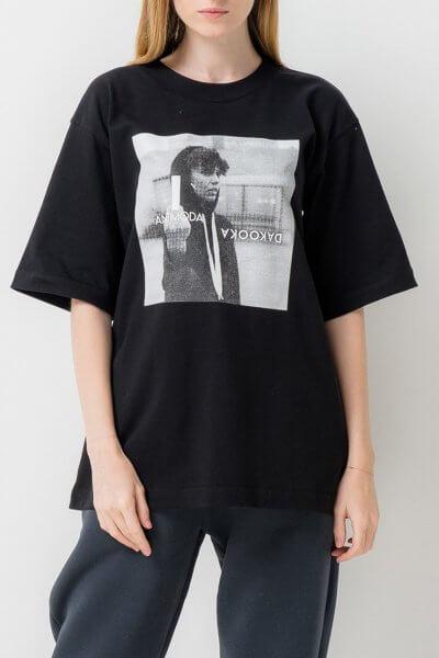 Хлопковая футболка DaKooka TFAM_AN26, фото 1 - в интеренет магазине KAPSULA