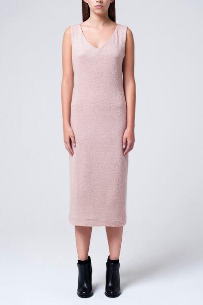 Вязаное платье миди MIN_fw1516-0107_outlet, фото 1 - в интеренет магазине KAPSULA