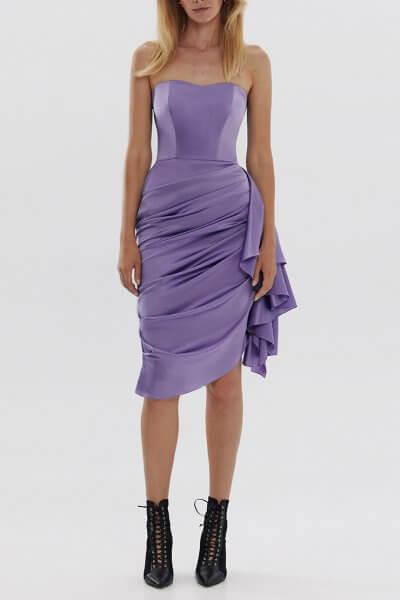 Корсетное платье из шелка ARS_SS20_14, фото 6 - в интеренет магазине KAPSULA