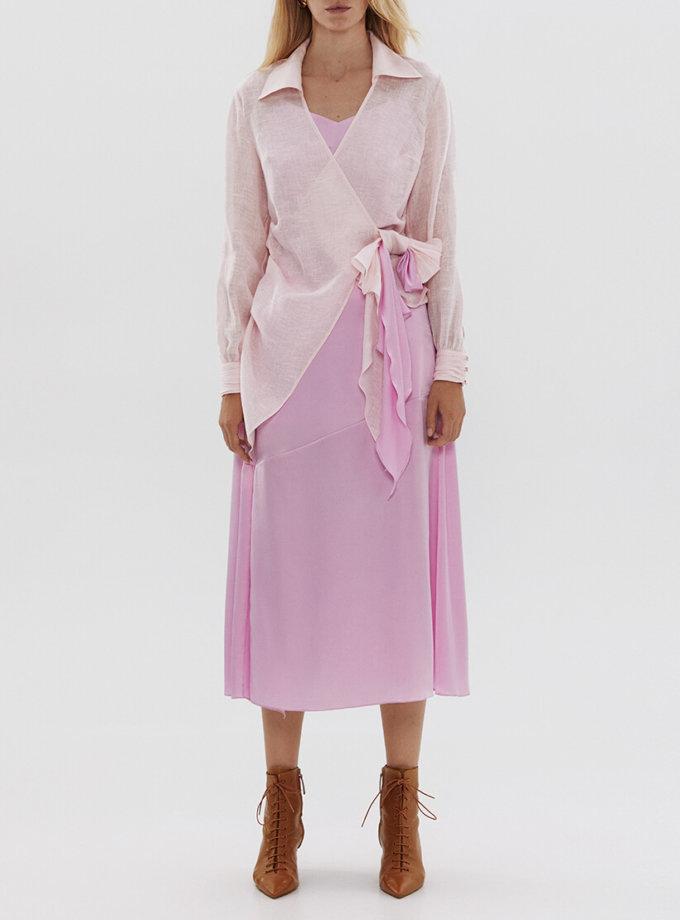 Шелковая юбка с разрезом ARS_SS20_32, фото 1 - в интеренет магазине KAPSULA