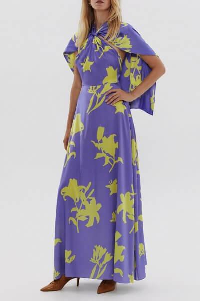 Шелковое платье с открытой спиной ARS_SS20_11, фото 1 - в интеренет магазине KAPSULA