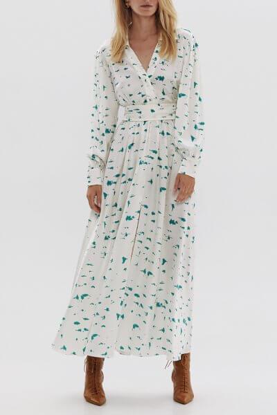 Шелковое платье-рубашка ARS_SS20_10, фото 2 - в интеренет магазине KAPSULA