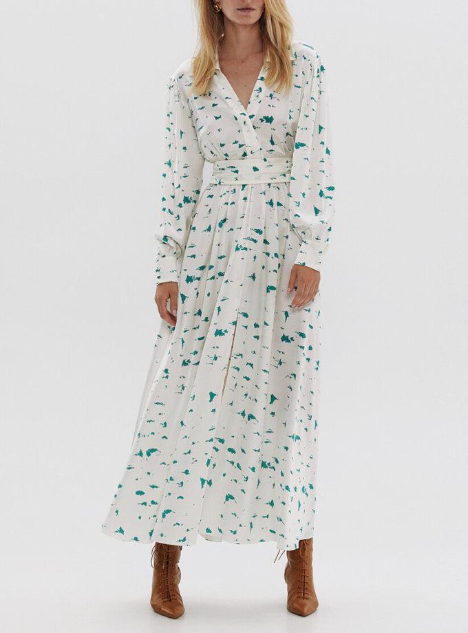 Шелковое платье-рубашка ARS_SS20_10, фото 1 - в интернет магазине KAPSULA