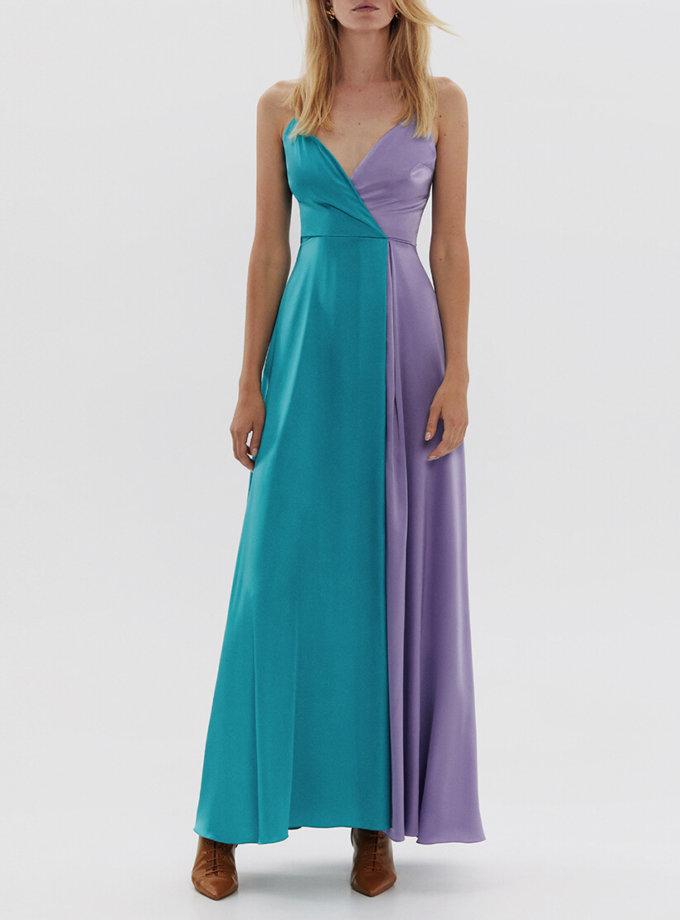 Двухцветное платье макси ARS_SS20_13, фото 1 - в интеренет магазине KAPSULA