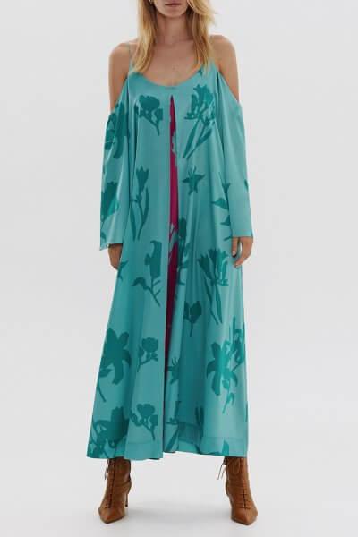 Шелковое платье на тонких бретелях ARS_SS20_9, фото 7 - в интеренет магазине KAPSULA