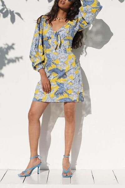 Льняное платье Iza MY4520, фото 1 - в интеренет магазине KAPSULA