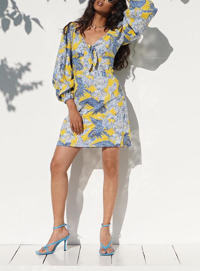 Льняное платье Iza MY4520, фото 1 - в интернет магазине KAPSULA