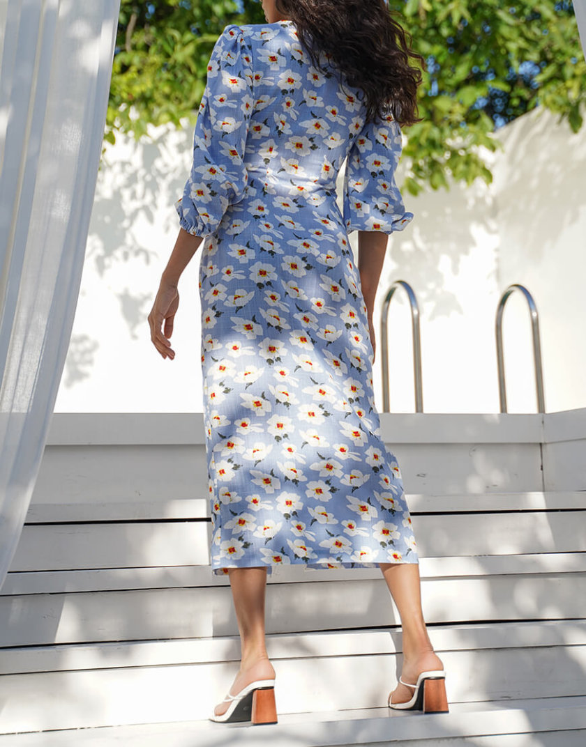 Льняное платье Mary MY4620, фото 1 - в интернет магазине KAPSULA