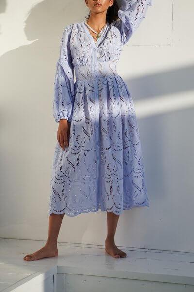 Хлопковое платье Faro MY4720, фото 1 - в интеренет магазине KAPSULA
