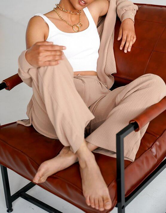 Костюм из мягкой ткани Amari MY3420, фото 5 - в интеренет магазине KAPSULA