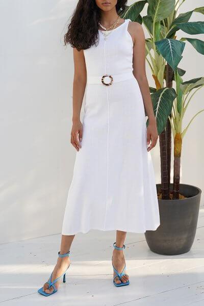 Хлопковое платье DIANA JDW_J.D.1303, фото 1 - в интеренет магазине KAPSULA