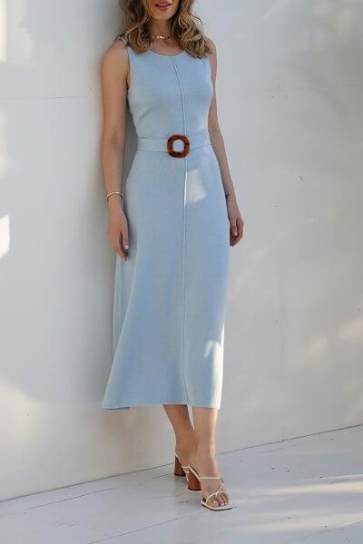 Хлопковое платье DIANA JDW_J.D.1403, фото 1 - в интеренет магазине KAPSULA