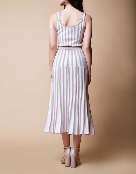 Платье MONRO из хлопка JDW_J.D.2103, фото 4 - в интеренет магазине KAPSULA