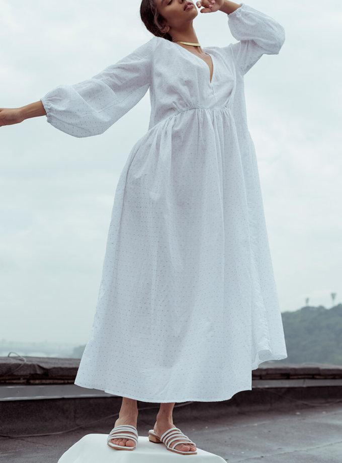 Платье свободного силуэта из хлопка NM_390, фото 1 - в интернет магазине KAPSULA