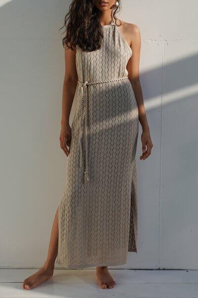 Ажурное платье AJOUR из хлопка JDW_J.D.0403, фото 1 - в интеренет магазине KAPSULA