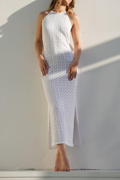 Ажурное платье AJOUR из хлопка JDW_J.D.0503, фото 1 - в интеренет магазине KAPSULA