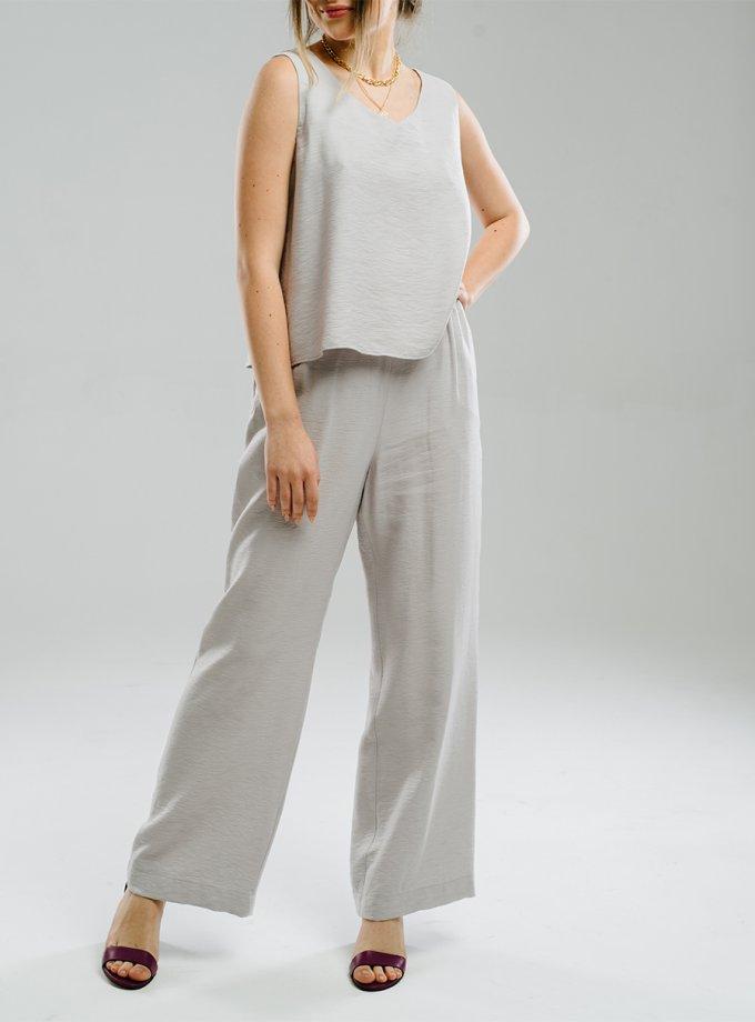 Легкие брюки на резинке MNTK_MTS20TR13, фото 1 - в интеренет магазине KAPSULA