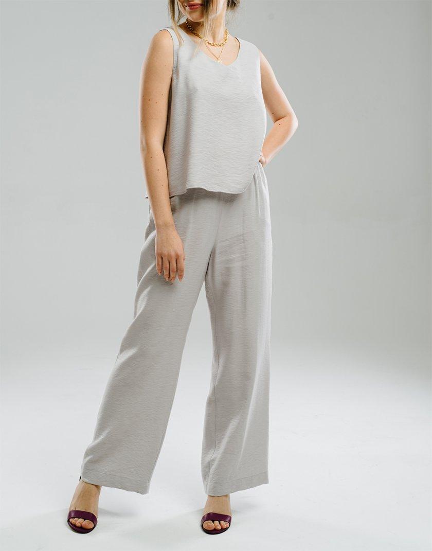 Легкие брюки на резинке MNTK_MTS20TR13, фото 1 - в интернет магазине KAPSULA