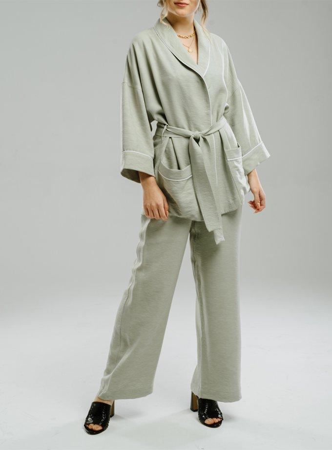 Легкие брюки на резинке MNTK_MTS20TR12, фото 1 - в интернет магазине KAPSULA