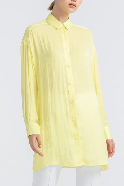 Полупрозрачная рубашка из шифона ALOT_020160, фото 4 - в интеренет магазине KAPSULA