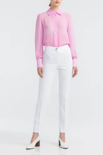 Белые котоновые брюки ALOT_030079, фото 1 - в интеренет магазине KAPSULA