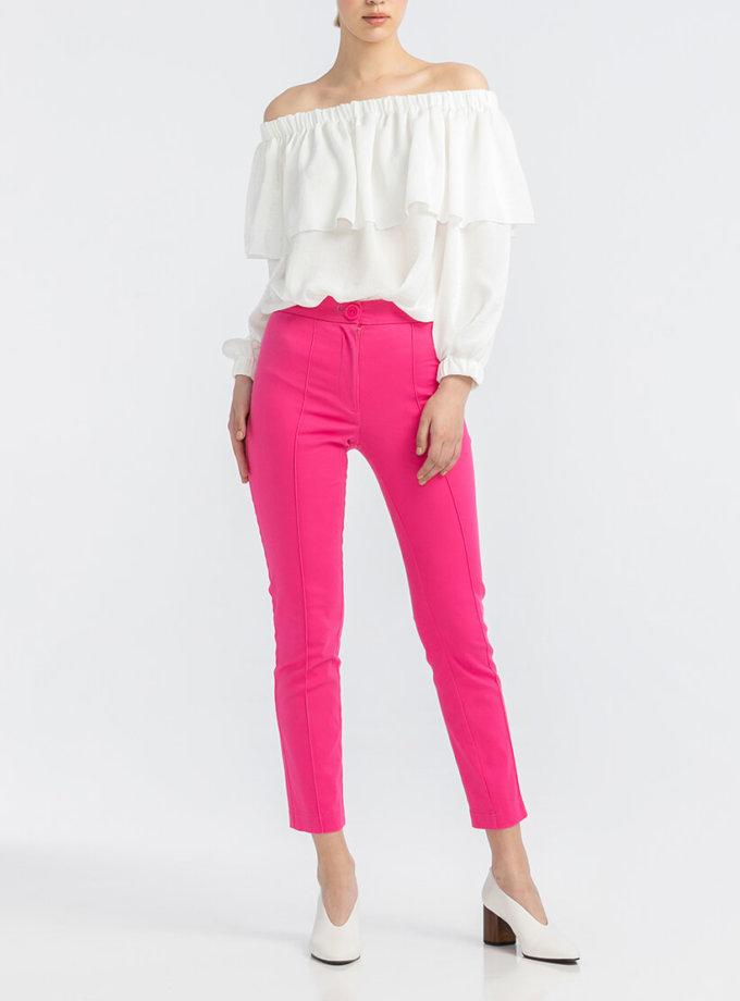Неоново-розовые брюки ALOT_030080, фото 1 - в интернет магазине KAPSULA