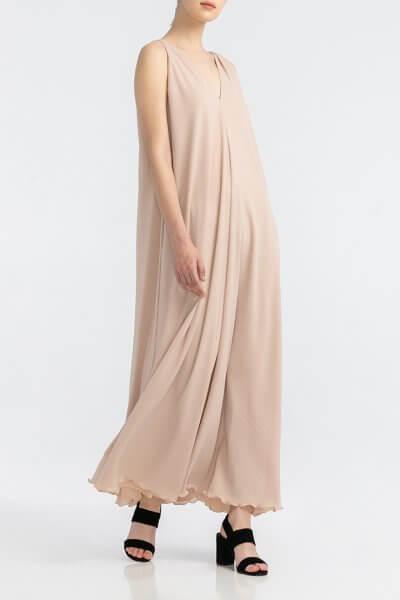 Легкое платье с V-вырезами ALOT_100327, фото 1 - в интеренет магазине KAPSULA