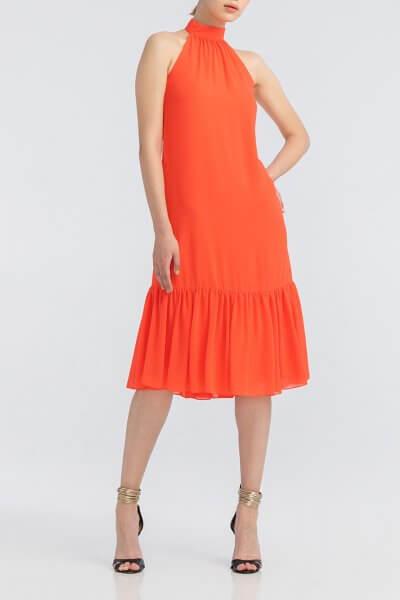 Легкое платье с открытыми плечами ALOT_100352, фото 1 - в интеренет магазине KAPSULA
