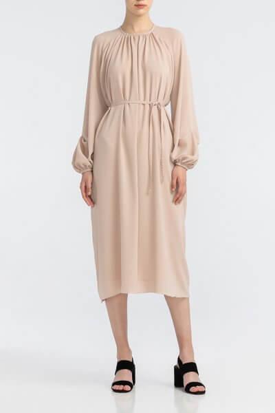 Легкое платье с поясом ALOT_100403, фото 1 - в интеренет магазине KAPSULA