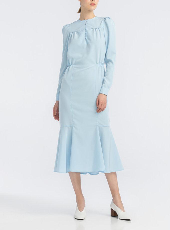 Платье с юбкой годе ALOT_100407, фото 1 - в интернет магазине KAPSULA