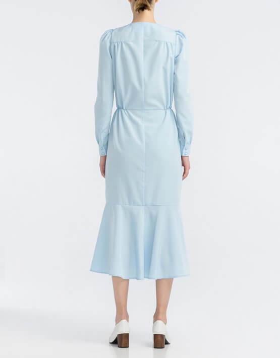 Платье с юбкой годе ALOT_100407, фото 3 - в интеренет магазине KAPSULA