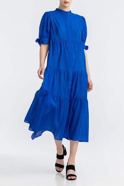 Шифоновое платье миди ALOT_100413, фото 1 - в интеренет магазине KAPSULA