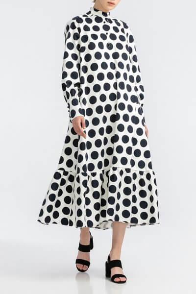 Хлопковое платье oversize ALOT_100414, фото 2 - в интеренет магазине KAPSULA