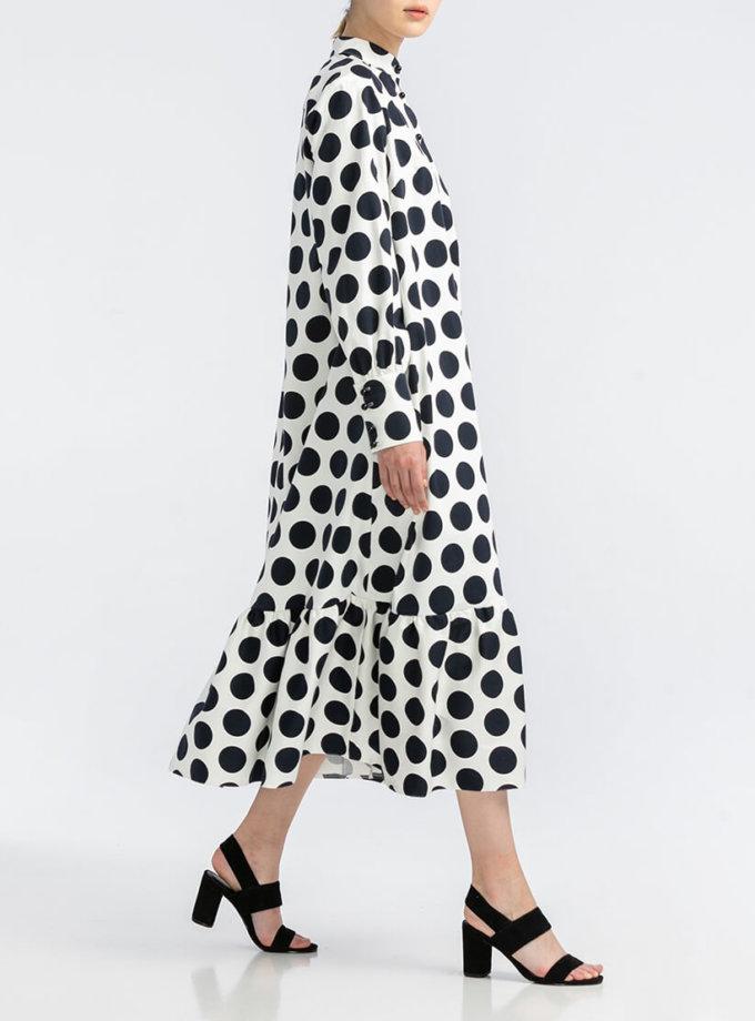 Хлопковое платье oversize ALOT_100414, фото 1 - в интернет магазине KAPSULA