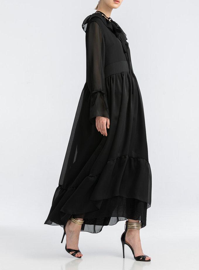 Шифоновое платье макси ALOT_100416, фото 1 - в интеренет магазине KAPSULA