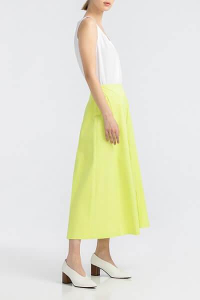 Хлопоковая юбка миди ALOT_200203, фото 5 - в интеренет магазине KAPSULA