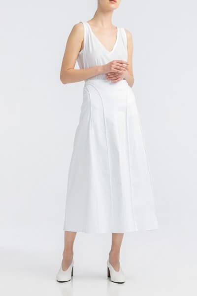Хлопоковая юбка А-силуэта ALOT_200204, фото 1 - в интеренет магазине KAPSULA