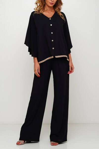Широкие брюки макси AY_3005, фото 4 - в интеренет магазине KAPSULA