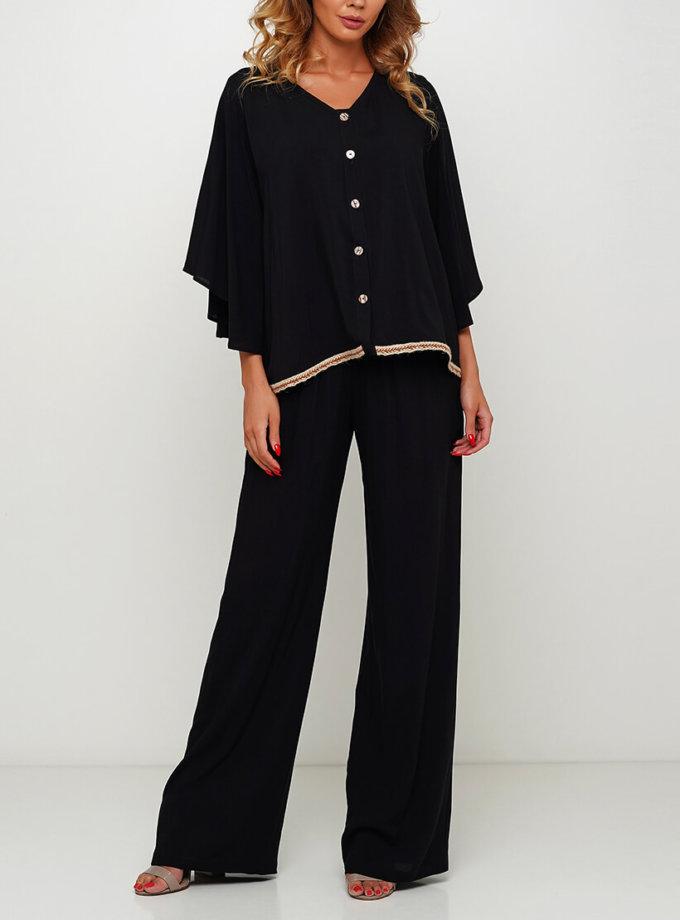 Широкие брюки макси AY_3005, фото 1 - в интернет магазине KAPSULA
