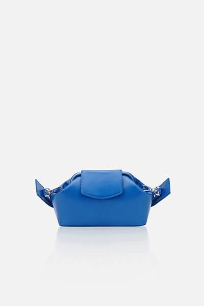 Кожаная сумка-саквояж BABY CHIC GR_BC_BB_BLUE, фото 1 - в интеренет магазине KAPSULA