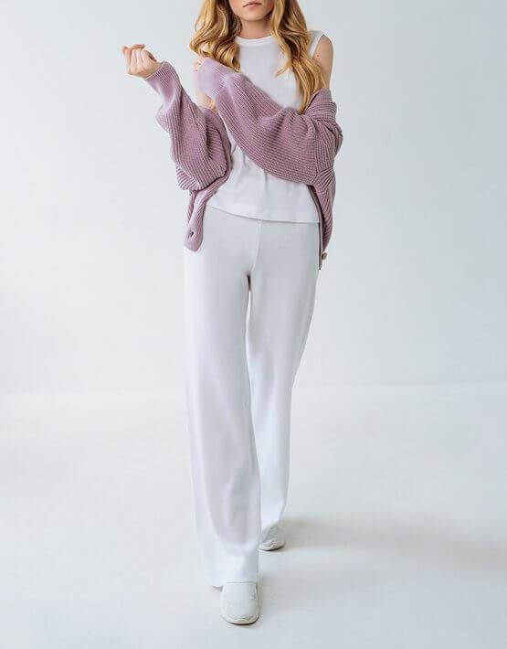 Брючный костюм из трикотажа FRBC_FBKT_SS20_01_suit, фото 3 - в интеренет магазине KAPSULA